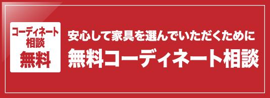 コーディネート相談無料